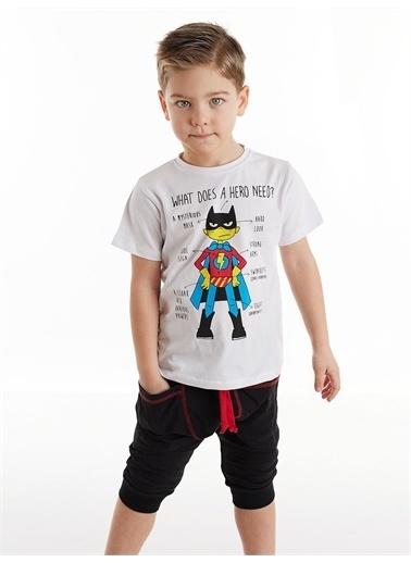 Denokids Need Hero Erkek Çocuk Kapri Takım Renkli